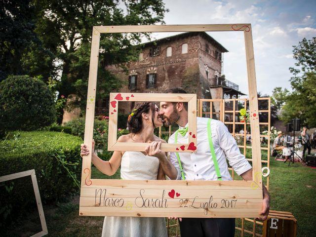 Le nozze di Sarah e Marco