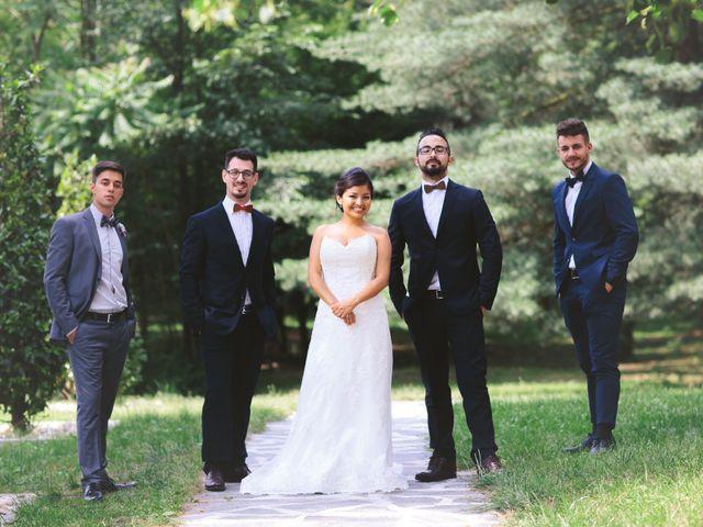 Il matrimonio di Fabio e Nataly a Vigevano, Pavia 41
