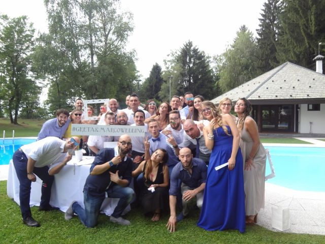 Il matrimonio di marco e greta  a Varese, Varese 23