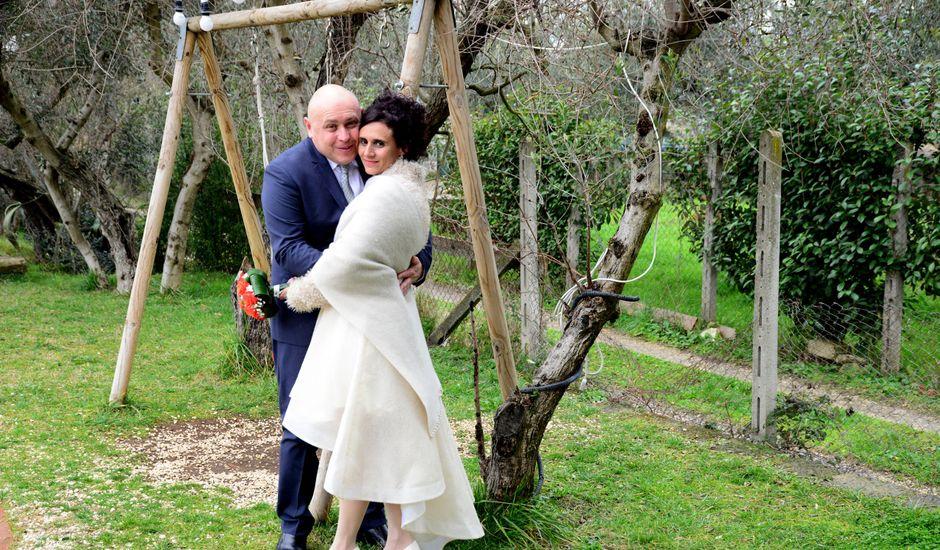 Il matrimonio di Donatella e Roberto a Marino, Roma
