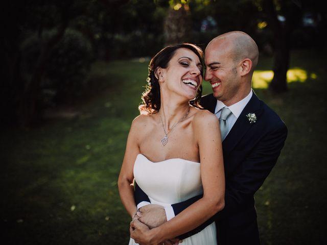 le nozze di Claudia e Gianluca