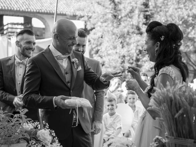 Il matrimonio di Christian e Ketty a Besate, Milano 13