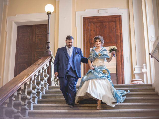le nozze di Nadia e Mattia