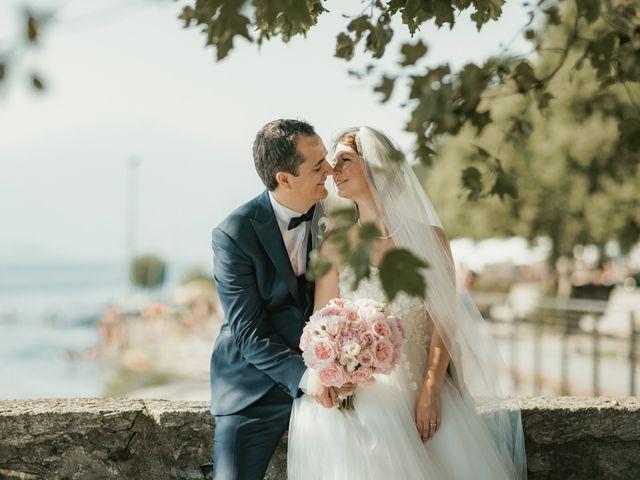 Le nozze di Ylenia e Pierre