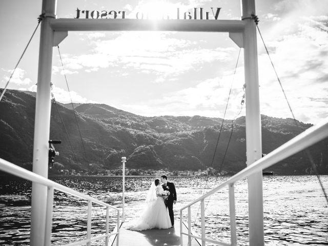 Il matrimonio di Gianluca e Katia a Mandello del Lario, Lecco 39