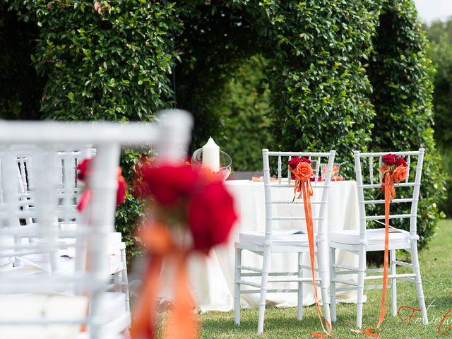 Il matrimonio di Daniele e Vui Sian a Bevilacqua, Verona 9