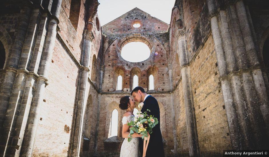 Il matrimonio di Gillian e Alexis a Siena, Siena