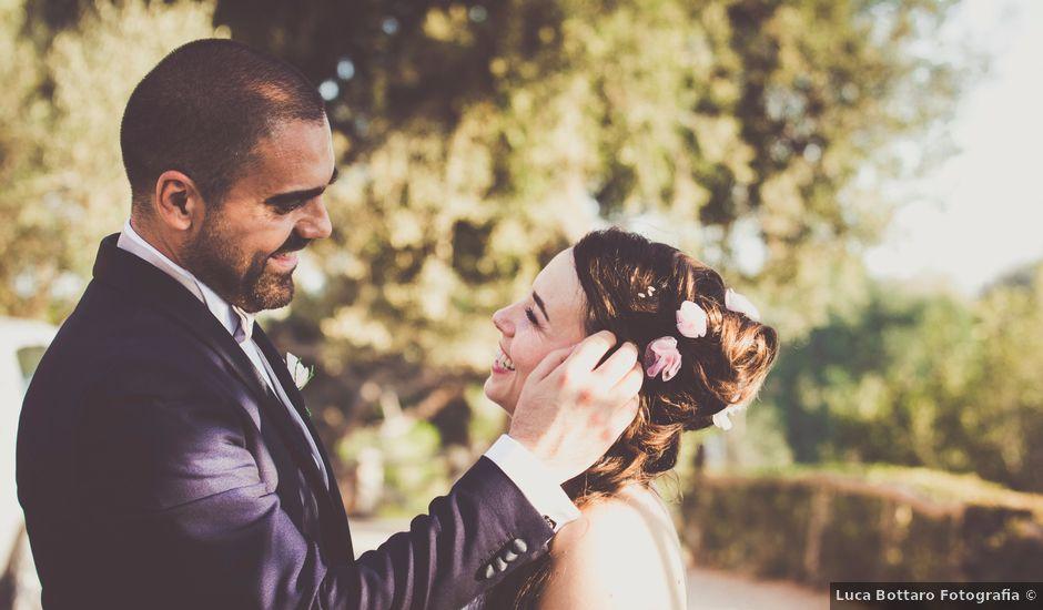 Il matrimonio di Valerio e Chiara a Roma, Roma