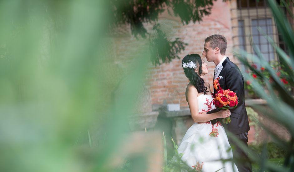 Il matrimonio di Daniele e Vui Sian a Bevilacqua, Verona