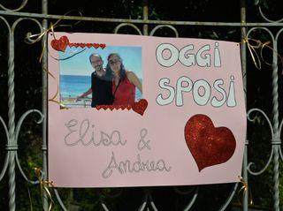 Le nozze di Andrea e Elisa 1