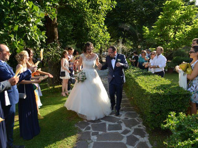 Il matrimonio di Elisa e Andrea a Montecatini-Terme, Pistoia 87
