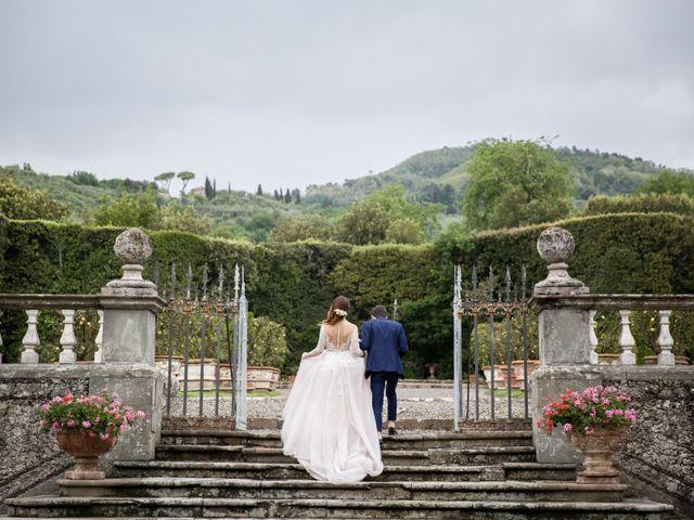 Il matrimonio di Alessio e Sara a Agliana, Pistoia 56