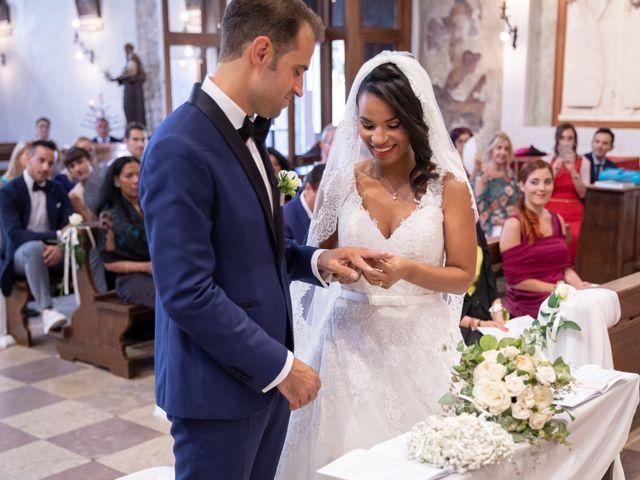 Il matrimonio di Fabrizio e Tibisay a Arquà Petrarca, Padova 32