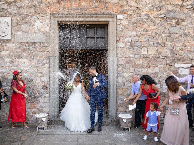 Il matrimonio di Fabrizio e Tibisay a Arquà Petrarca, Padova 34