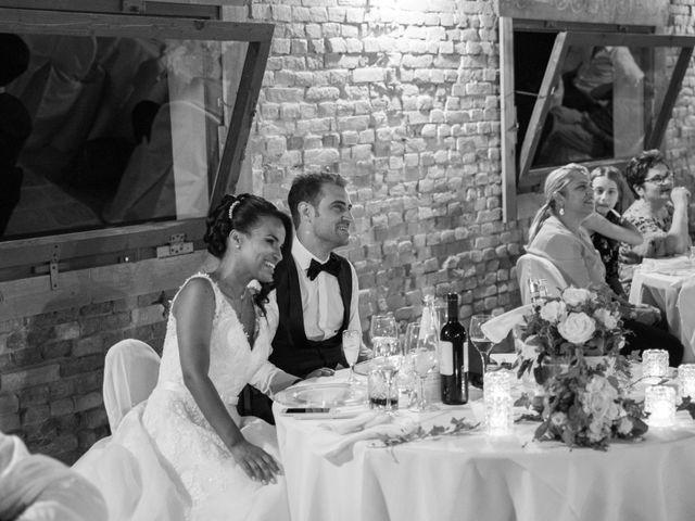 Il matrimonio di Fabrizio e Tibisay a Arquà Petrarca, Padova 56