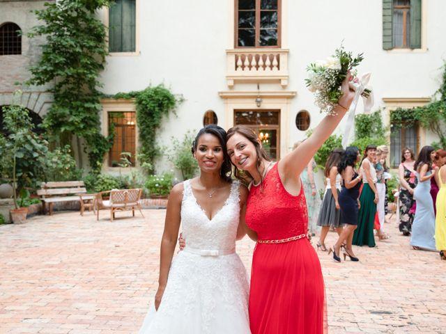 Il matrimonio di Fabrizio e Tibisay a Arquà Petrarca, Padova 64