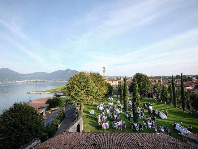 Il matrimonio di Beppe e Silvia a Iseo, Brescia 73