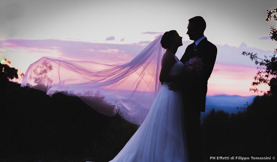 Il matrimonio di Fabio e Pamela a Trevi, Perugia