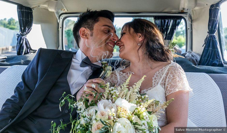 Il matrimonio di Alessandro e Monica a Trecastagni, Catania