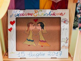 le nozze di Cristiana e Miriam 1