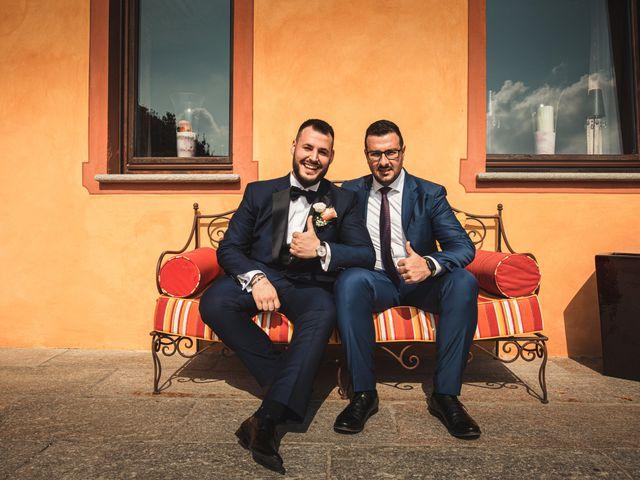 Il matrimonio di Luca e Sabrina a Piscina, Torino 14