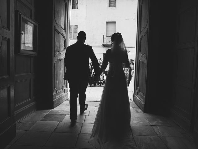 Il matrimonio di Luca e Sabrina a Piscina, Torino 26