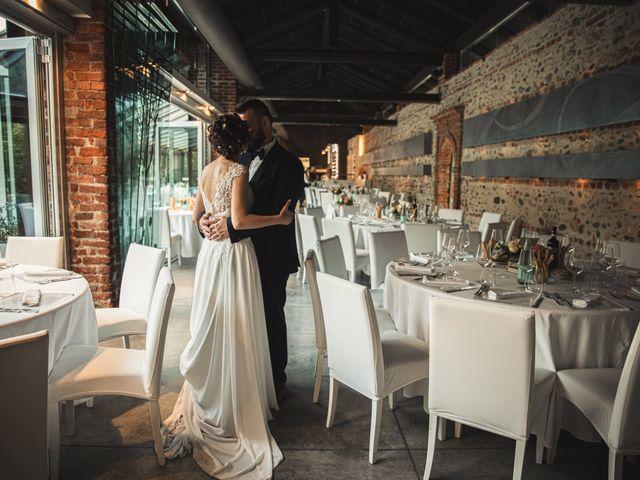 Il matrimonio di Luca e Sabrina a Piscina, Torino 34