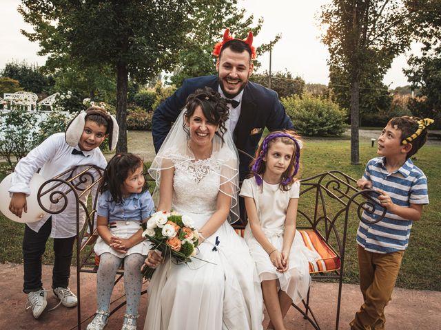 Il matrimonio di Luca e Sabrina a Piscina, Torino 35