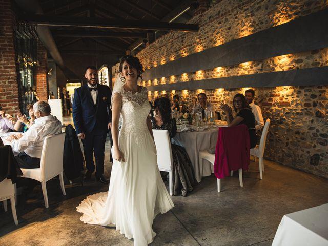 Il matrimonio di Luca e Sabrina a Piscina, Torino 36