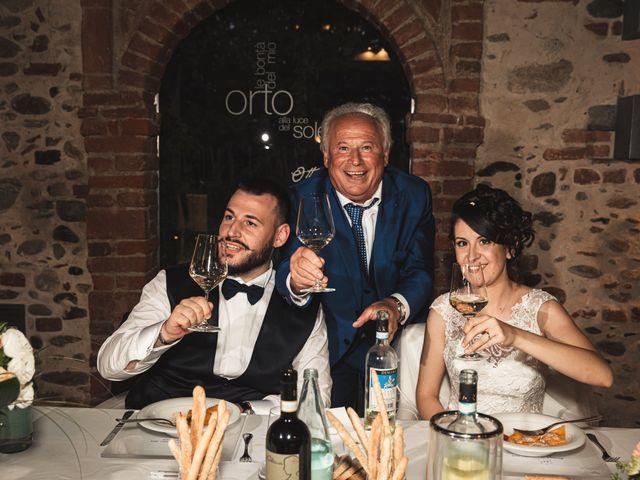 Il matrimonio di Luca e Sabrina a Piscina, Torino 38