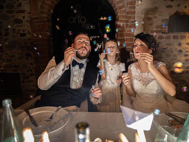 Il matrimonio di Luca e Sabrina a Piscina, Torino 42