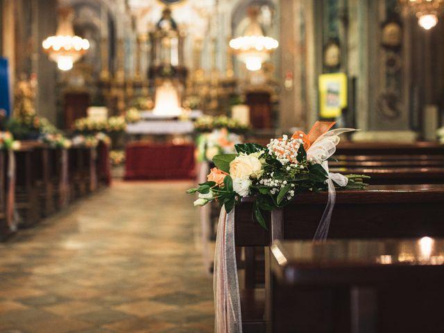 Il matrimonio di Luca e Sabrina a Piscina, Torino 51