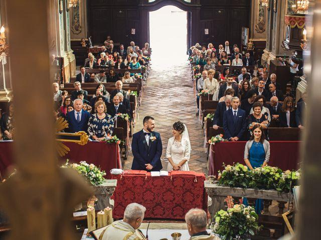 Il matrimonio di Luca e Sabrina a Piscina, Torino 54