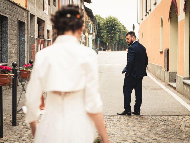 Il matrimonio di Luca e Sabrina a Piscina, Torino 56