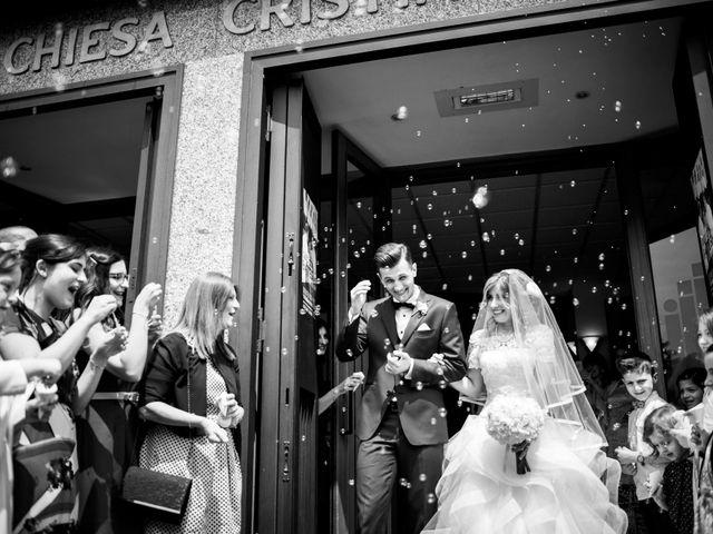 Il matrimonio di Edoardo e Eleonora a Besozzo, Varese 25