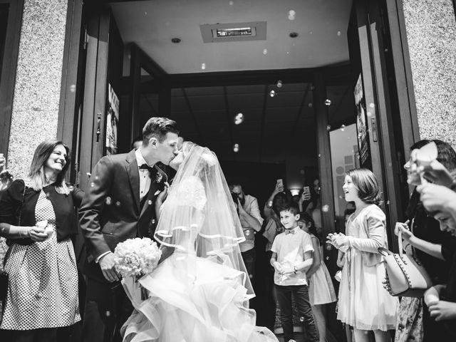 Il matrimonio di Edoardo e Eleonora a Besozzo, Varese 26