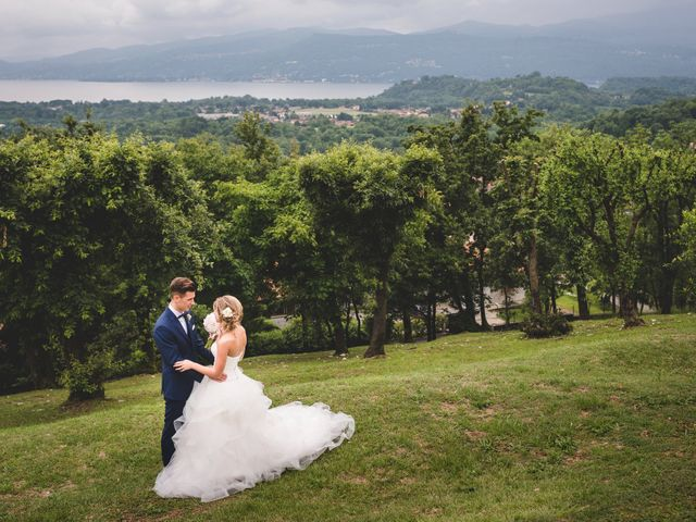 Il matrimonio di Edoardo e Eleonora a Besozzo, Varese 34