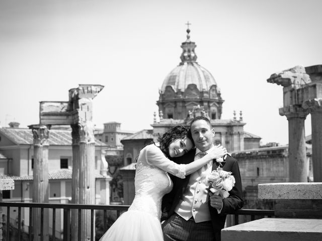 le nozze di Maria Cristina e Alberto
