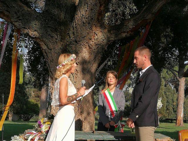 Il matrimonio di PAOLO e VALENTINA a Monte Compatri, Roma 11