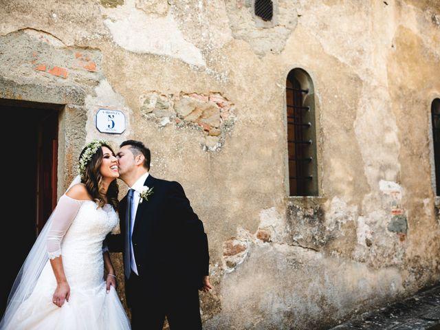 Il matrimonio di Andrea e Viola a Monte San Savino, Arezzo 19