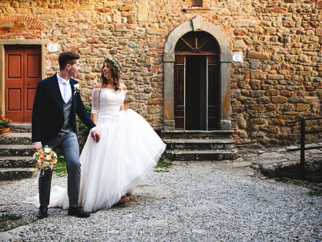 Il matrimonio di Andrea e Viola a Monte San Savino, Arezzo 39