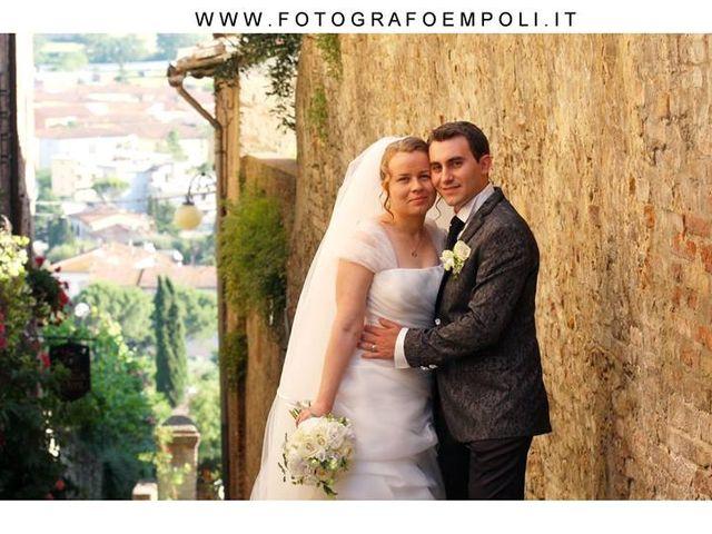 Il matrimonio di Giovanni e Nataliya a Certaldo, Firenze 2