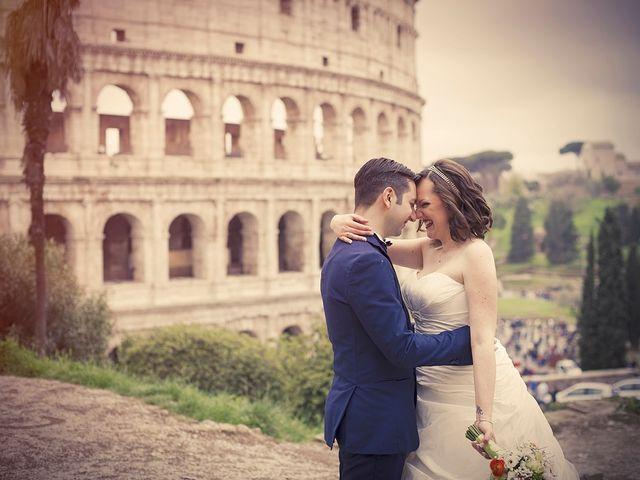 Il matrimonio di Matteo e Alessia a Roma, Roma 12