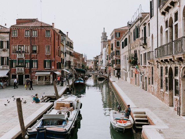 Il matrimonio di Enrico e Chiara a Venezia, Venezia 3