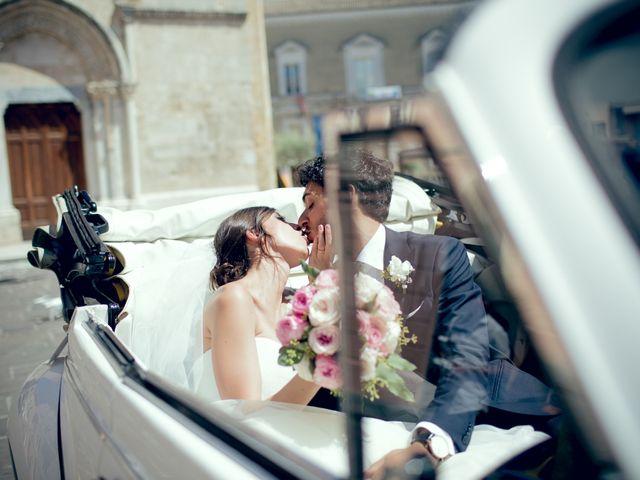 le nozze di Alessandra e Marco