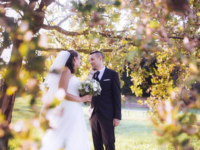 Le nozze di Pamela e Michael