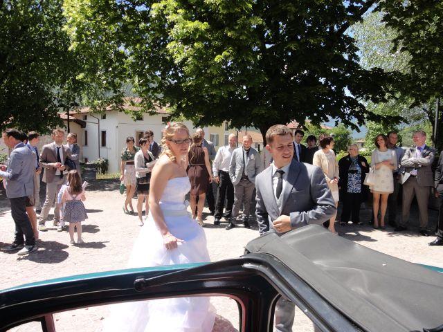 Il matrimonio di Monica e Daniel a Vigolo Vattaro, Trento 3