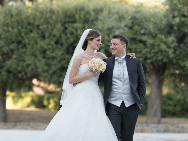 le nozze di Alessia e Ciro
