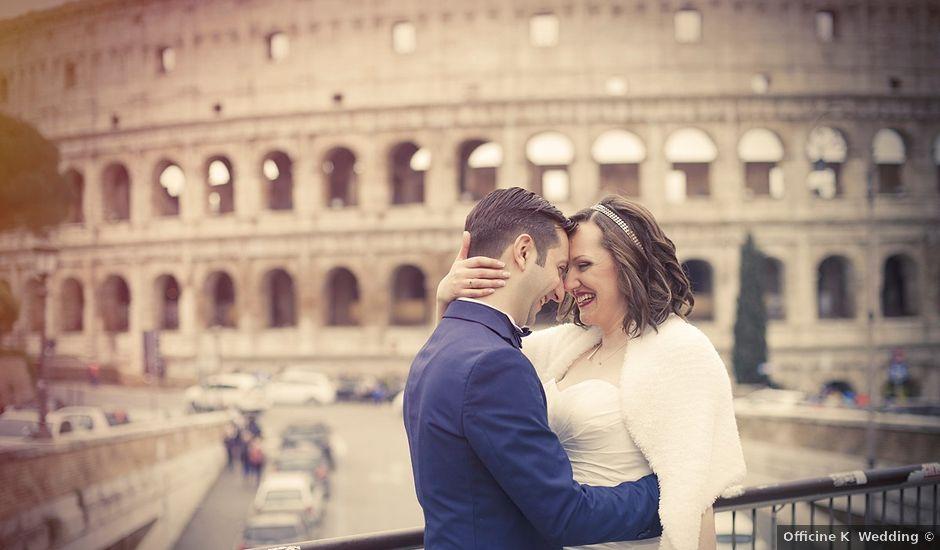 Il matrimonio di Matteo e Alessia a Roma, Roma