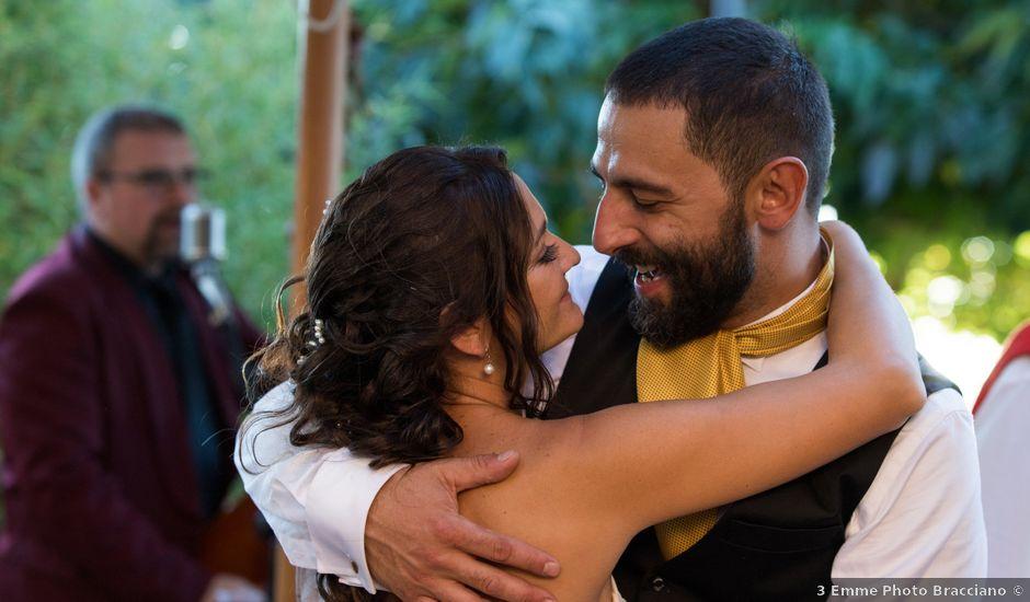 Il matrimonio di Danilo e Silvia a Cerveteri, Roma